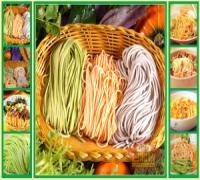 彩色面条机,多功能面条机,你的美食,你的健康谁作主-带馅面条机(图)