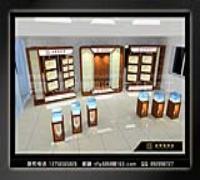 长春金雅福珠宝展厅柜台设计施工(图)