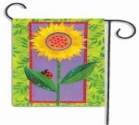 数码热转印花园旗帜