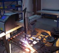 CAD制图数控火焰切割机(图)