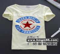 低价清仓T恤韩版T恤库存T恤广州沙河T恤便宜