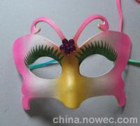 厂家自产直销生日party用品 狂欢节面具 小蝴蝶舞会面具