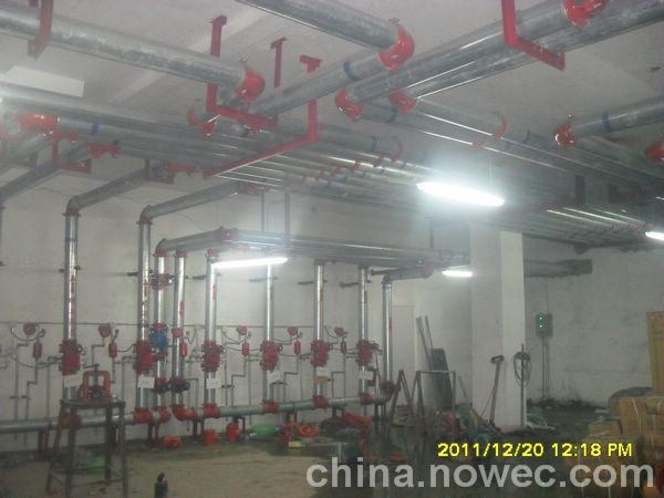 灭火系统承包施工;钢结构