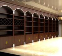 厦门红酒柜、白酒柜定做厂家,展示柜设计图全套(图)