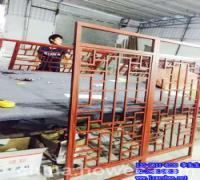 焊接铝窗花铝格栅窗花铝窗花图片(图)