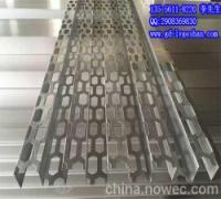 木纹长城板凹凸型铝板冲孔氟碳长城板