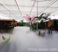 景观新元素人造雾,喷雾造景,湖北武汉锦胜雾森系统,人造雾负离子景观(图)